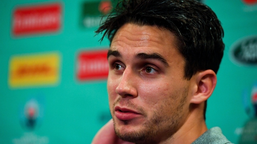Joey Carbery: 'I'd be more than happy to give [12] a go'