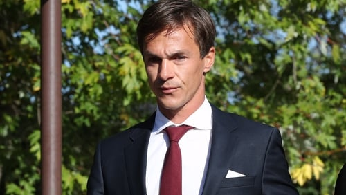 Thorbjorn Olesen leaving court today
