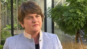 Arlene Foster told RTÉ News that she believes a way can be found to avoid a no-deal Brexit