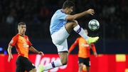 Rodri controls the ball against Shakhtar Donetsk, who are  familiar foes for City as they meet for a third consecutive season in Europe