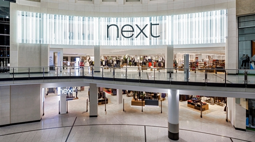 Next said it made a pre-tax profit of £319.6m in the 26 weeks to July 27