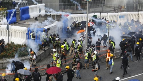 Protests in Hong Kong have been taking place for a number of months