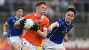 Ross McQuillan in action for Armagh minors in 2016