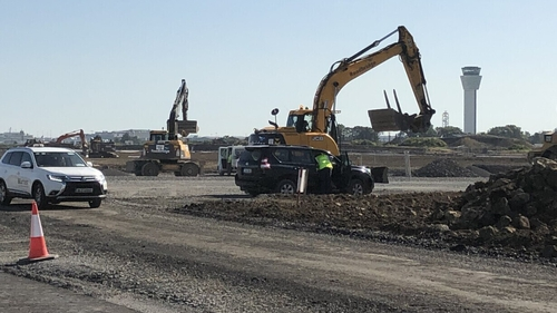 Work is already underway at Dublin Airport on the second runway