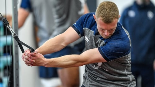 Keith Earls has been hampered with a thigh injury