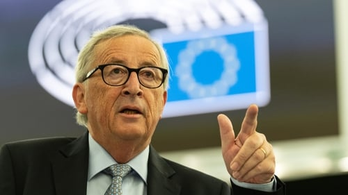 Jean-Claude Juncker said he had a positive meeting with Boris Johnson earlier this week