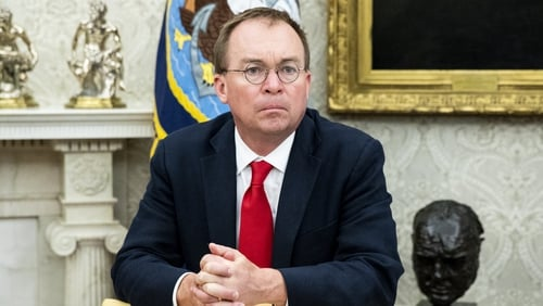 Mick Mulvaney will hold meetings in Dublin, Belfast and London