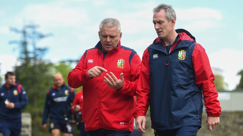 Wales assistant coach Howley was sent home from the Rugby World Cup on Tuesday with Stephen Jones flying out to replace him