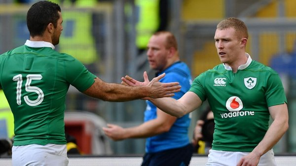 Rob Kearney and Keith Earls have been ruled out of the World Cup opener against Scotland