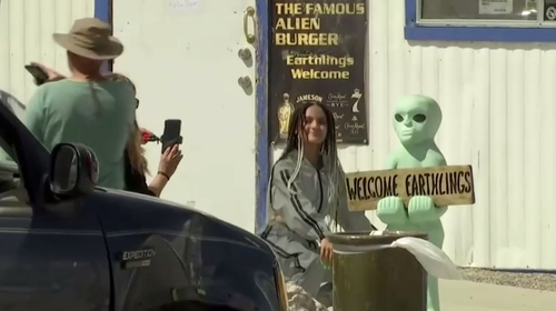 Area 51 was shrouded in secrecy for decades, stoking conspiracy theories that it housed the remnants of a flying saucer