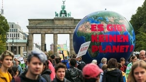 'There is no planet B' during a demonstration as a part of the Fridays for Future global climate strike in Berlin