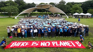 'There is no Planet B' - university students in the Philippines send a message