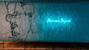 A tribute to James Joyce at MoLI, the Museum of Irish Literature
