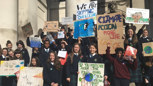 Irish students lead third country-wide climate strike