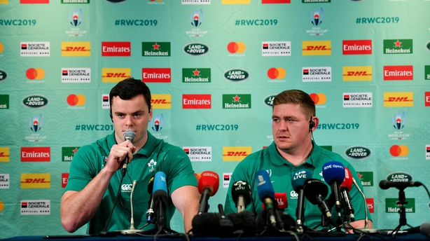 James Ryan is central to Ireland's chances