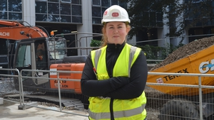 Aoife Gormally is working on the new Technological University Dublin campus