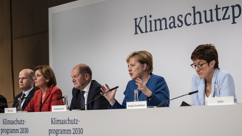 After marathon overnight talks, the German government reached a €100bn deal on a broad climate plan