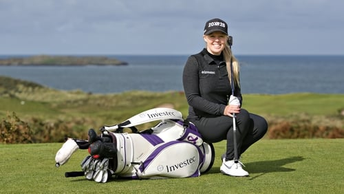 Stephanie Meadow is looking to retain her LPGA Tour card for the 2020 season