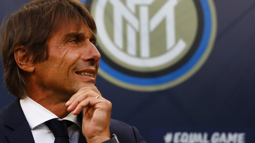 Conte ended his former club Juve's dominance in just his second season in charge