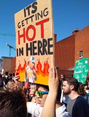 Global climate strike to take place today