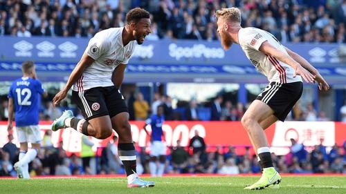 Lys Mousset of Sheffield United celebrates