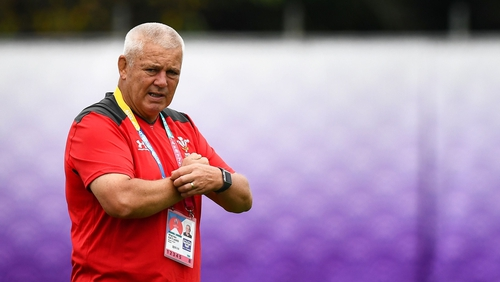 Warren Gatland: 'We can't change what has happened, but it is important we do provide support.'