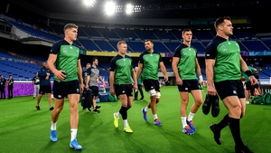 Ireland take on Scotland