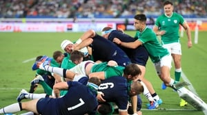 Rory Best won his 121st cap and scored his 11th try