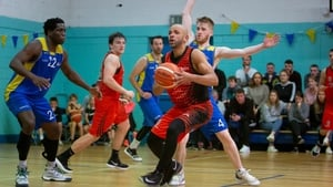 Isaac Westbrooks in action for Pyrobel Killester