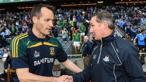 O'Dowd and Dublin manager Jim Gavin