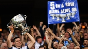 Dublin captain Stephen Cluxton lifted Sam Maguire for the fifth time in a row this year