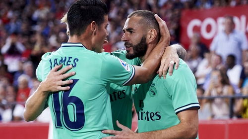 Benzema victor  against Sevilla eases pressure on Zidane — Real Madrid