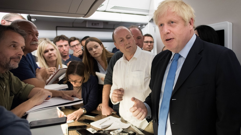 Johnson plays down Brexit 'breakthrough' chances in NY
