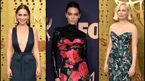 Click through the gallery for all the Emmy's red carpet fashion