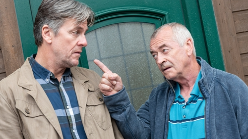 Vince and John Joe worry about Katy's apartment being left empty - do they have the same idea?