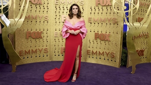 The purple carpet was a sea of candy-coloured looks.