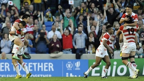 Japan famously beat South Africa at RWC2015