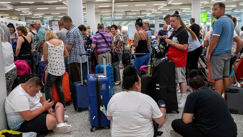 Thousands of passengers have been left stranded by the collapse of Thomas Cook