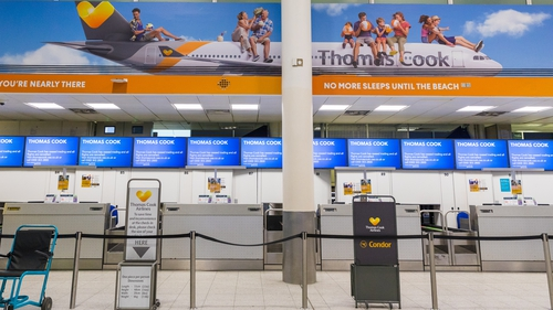 Thomas Cook currently has around 600,000 people abroad