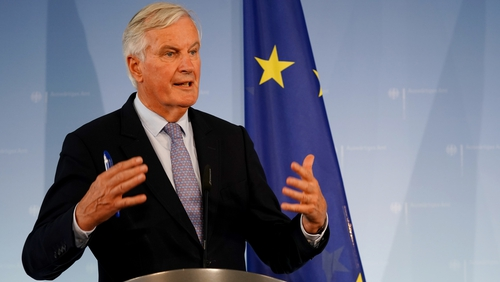 Michel Barnier briefed EU diplomats on the negotiations this afternoon