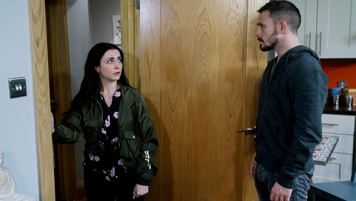 Ciaran in for a big shock on Fair City