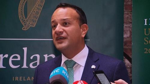 An Taoiseach i Nua-Eabhrac inniu