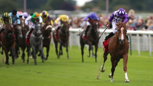 Mums Tipple scorched to victory in an impressive time in a sales race at York's Ebor meeting last August