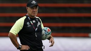 Georgia's Kiwi coach Milton Haig