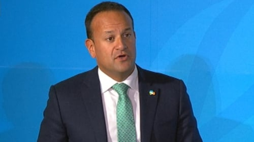 Taoiseach Leo Varadkar was speaking at a meeting of the European People's Party in Zagreb, Croatia