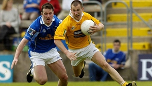 Kevin Madden in action for Antrim back in 2005