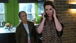 Nora and Carol worry about Robbie on Fair City