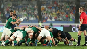 Last year's Rugby World Cup had an average of 13.3 scrums per match