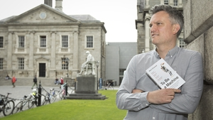 Mark O'Connell, winner of the Rooney Prize for Irish Literature 2019, at Trinity College Dublin