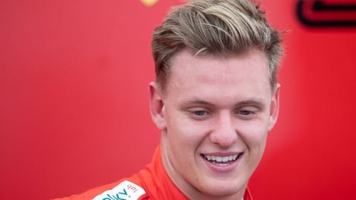 Mick Schumacher, son of Michael, is a Ferrari academy driver and competes for the Prema team in Formula Two